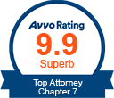 Avvo: 9.9 Top Attorney Chapter 7